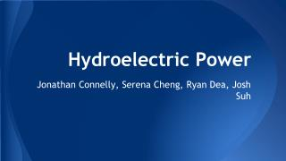 Hydroelectric Power