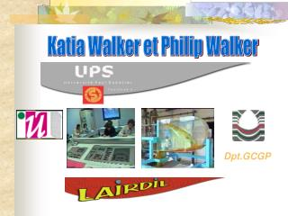 Katia Walker et Philip Walker