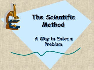 Scientific Method, Motion, Energy, Heat