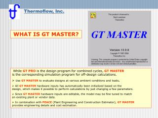 What is GT MASTER