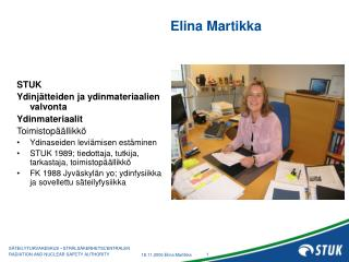 Elina Martikka