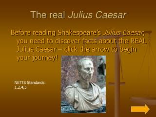 The real  Julius Caesar