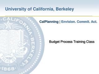 Budget Process Training  Class