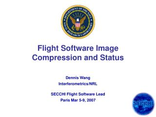 Flight Software Image Compression and Status