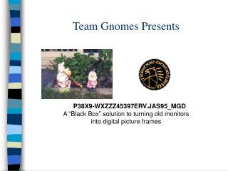 Team Gnomes Presents