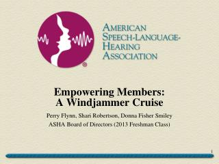 Empowering Members:  A Windjammer Cruise