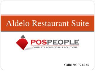 Aldelo Restaurant Suite With POS People Solution