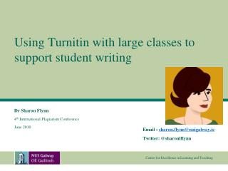Using Turnitin with large classes to support student writing