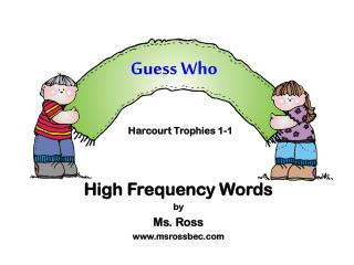 Guess Who Harcourt Trophies 1-1