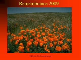 Remembrance 2009