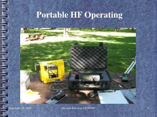 Portable HF Operating