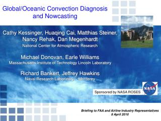 Global/Oceanic Convection Diagnosis       and Nowcasting