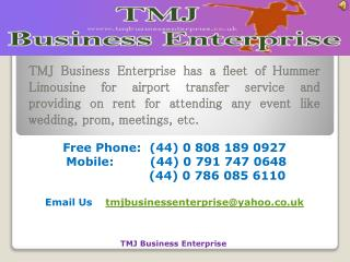 Cheap Limousine Hire London | Airport Pickups London