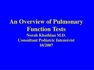 Pulmonary function testing primarily detects two abnormal patterns: