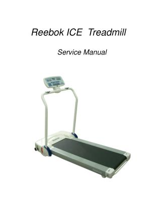 Reebok ICE  Treadmill