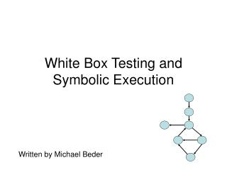 White Box Testing and Symbolic Execution
