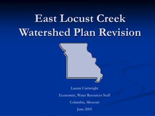 East Locust Creek Watershed Plan Revision