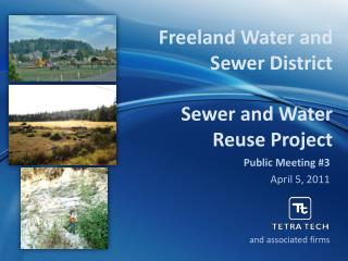 Freeland Water and Sewer District Sewer and Water Reuse Project