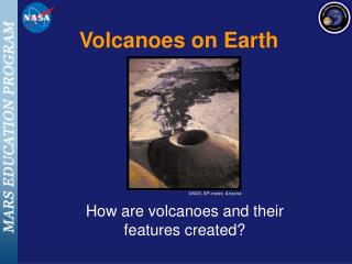 Volcanoes on Earth