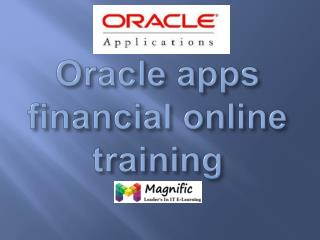 oracle apps finance online training in dubai