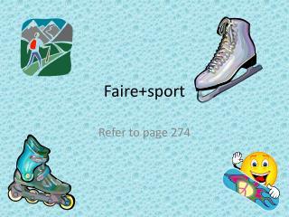 Faire+sport
