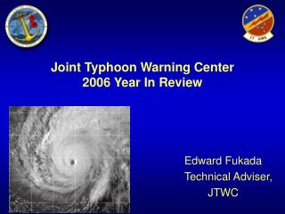 Joint Typhoon Warning Center  2006 Year In Review