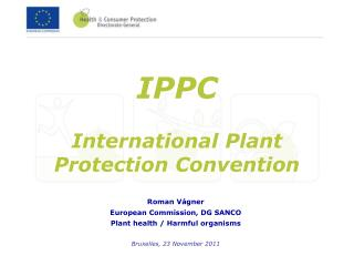IPPC International Plant Protection Convention