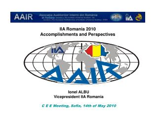 IIA Romania 2010 Accomplishments and Perspectives