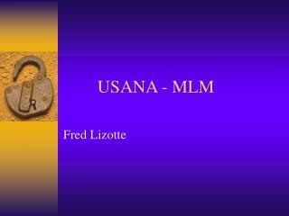 USANA - MLM