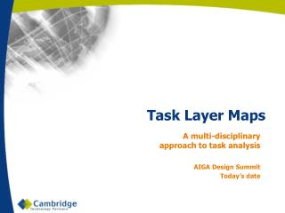 Task Layer Maps