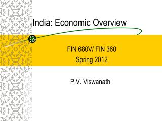 India: Economic Overview