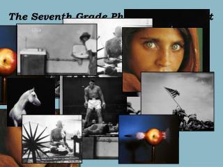 The Seventh Grade Photo Essay Project