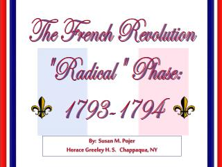 The French Revolution Radical Phase: 1793-1794