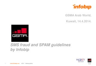 SMS fraud and SPAM guidelines by Infobip
