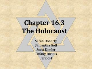 Chapter 16.3 The Holocaust