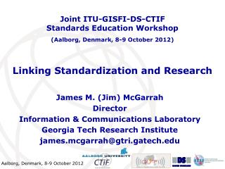 Linking Standardization and Research