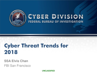 Cyber Threat Trends for 2018