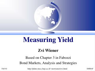 Measuring Yield