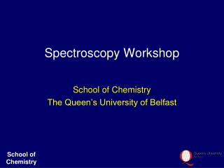 Spectroscopy Workshop