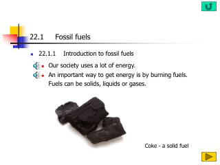 22.1     Fossil fuels