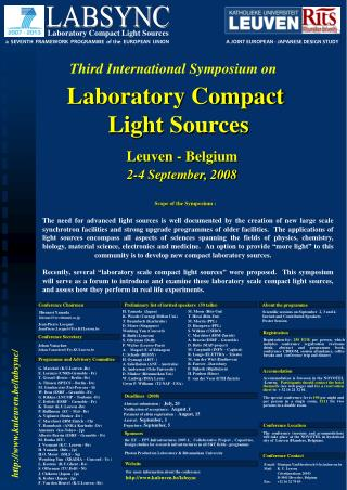 Laboratory Compact  Light Sources