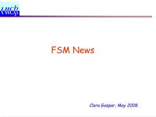 FSM News