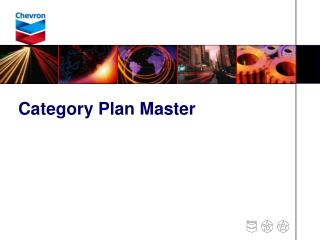 Category Plan Master