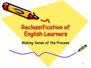 Reclassification of English Learners