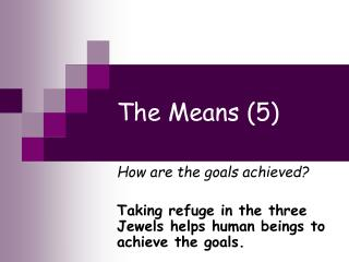 The Means (5)