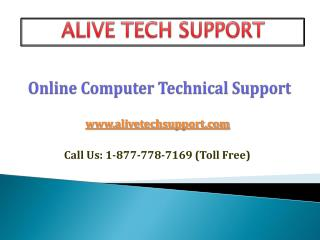 Online Computer Tech Support & Service Company
