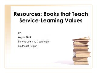 Resources: Books that Teach Service-Learning Values
