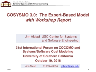 Extensions of COSYSMO to Represent Reuse  21st International Forum on COCOMO and Software Cost Modeling