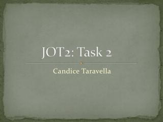 JOT2: Task 2