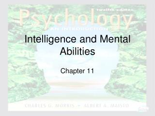 Intelligence and Mental Abilities